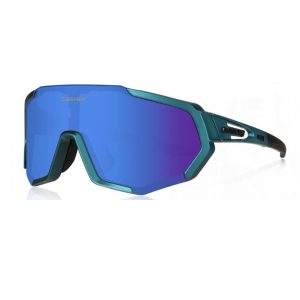 Queshark Blue Cycling Glasses